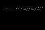Logo van raleigh en evision in png